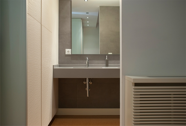 Muebles retro para baños muy juveniles