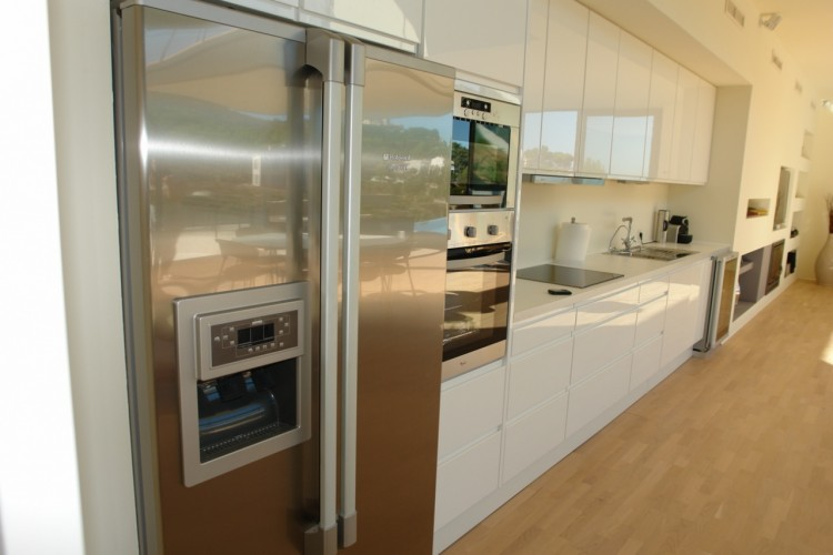 Frigor ficos combi vs frigor ficos americanos - Cocinas con frigorifico americano ...